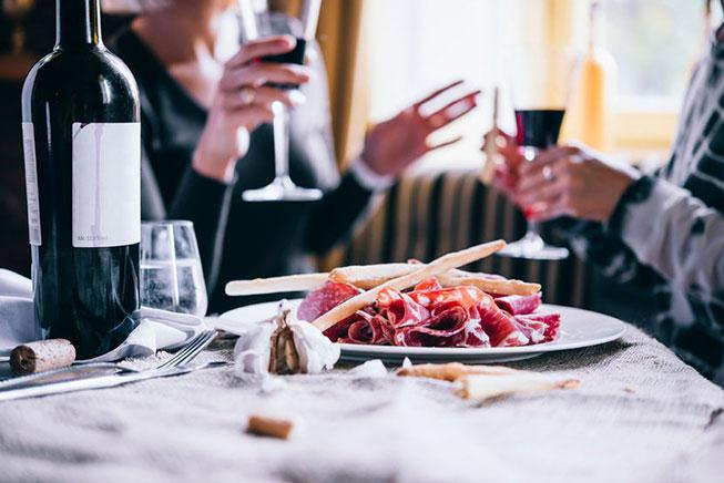 Comidas y celebraciones